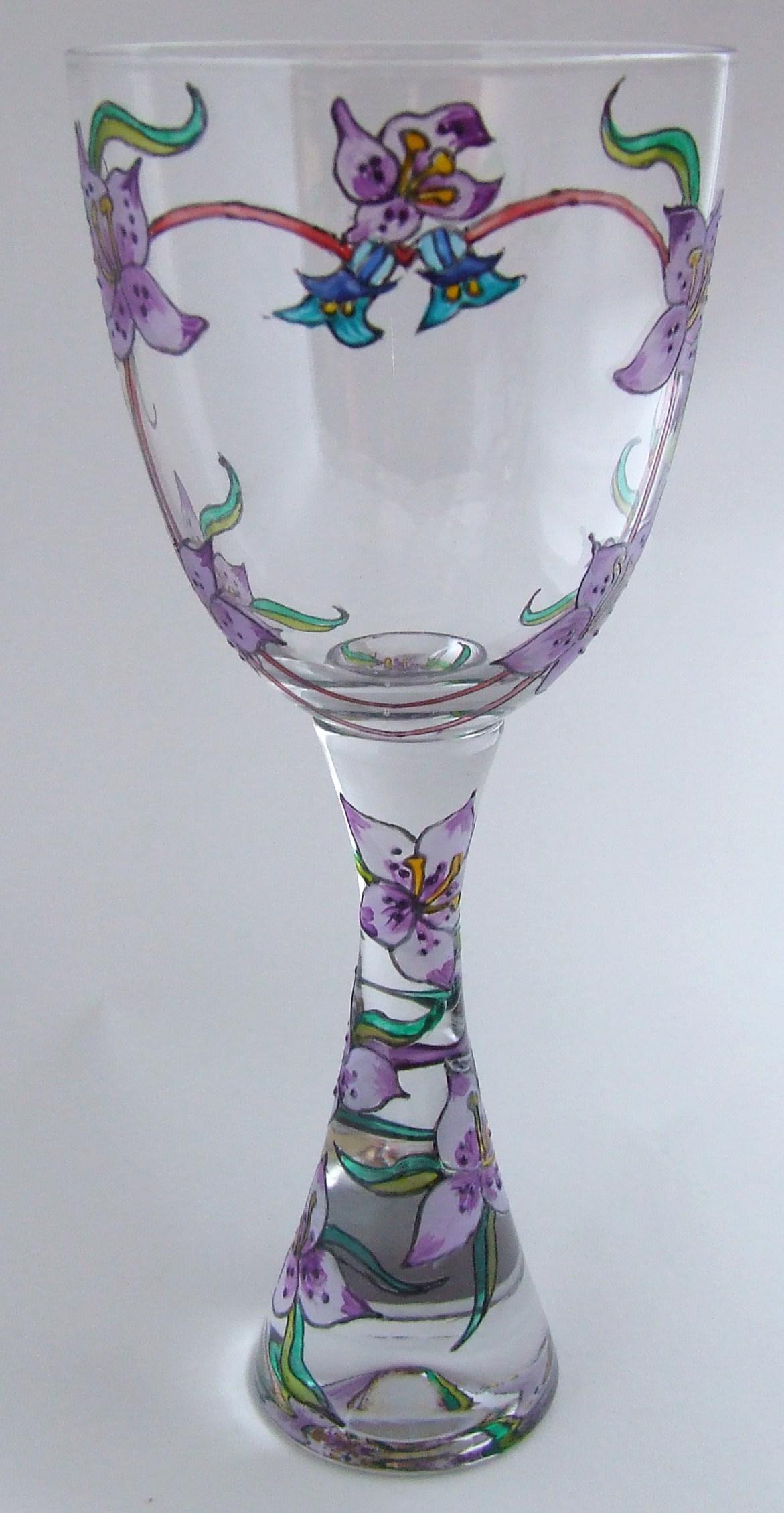 Lavender Goblet